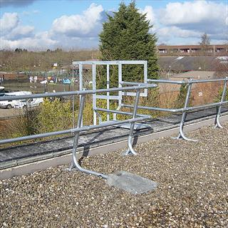 Handrail and Guardrail Edge Protection