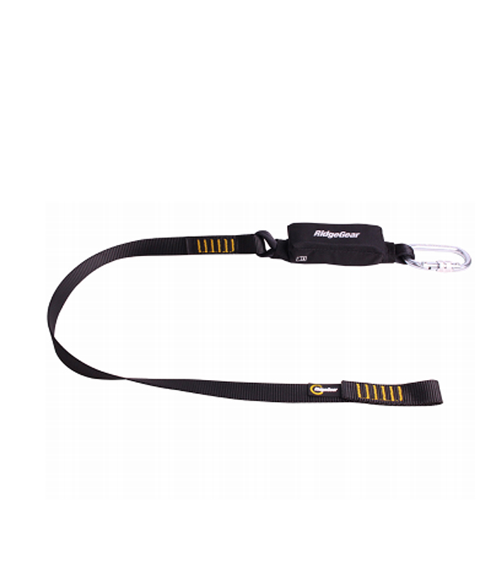 Single Leg Webbing Lanyard & Shock Absorber